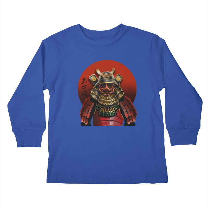 Way of the Warrior Kids Longsleeve T-Shirt by psweetsdesign's Artist Shop