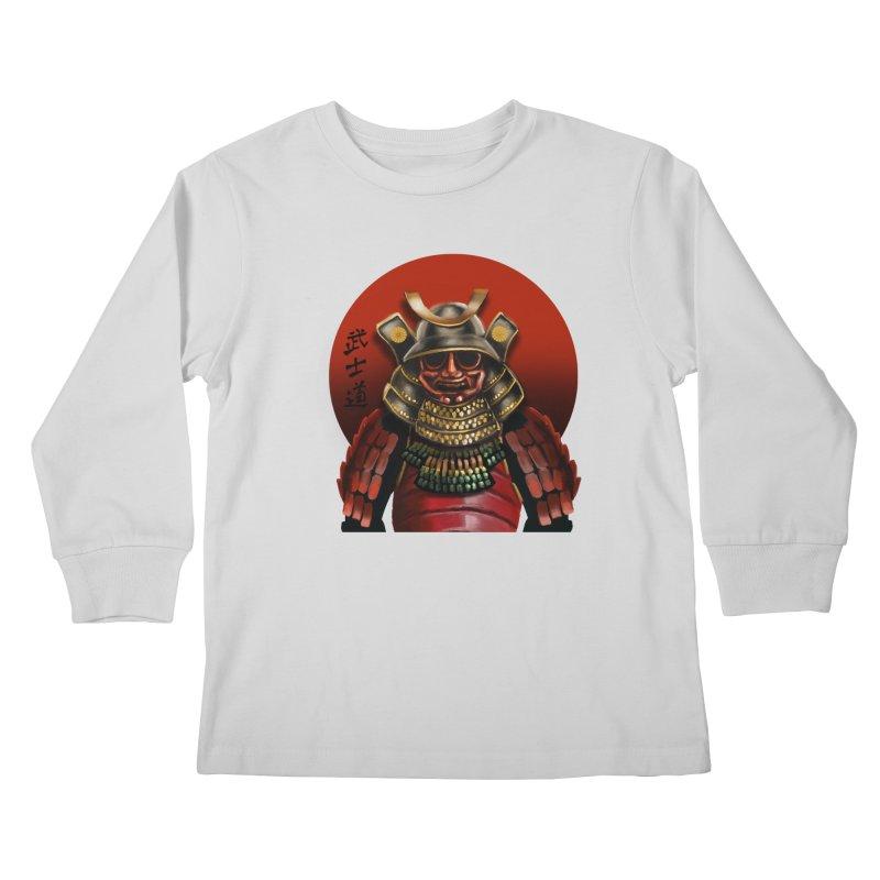 Way of the Warrior Kids Longsleeve T-Shirt by psweetsdesign's Artist Shop