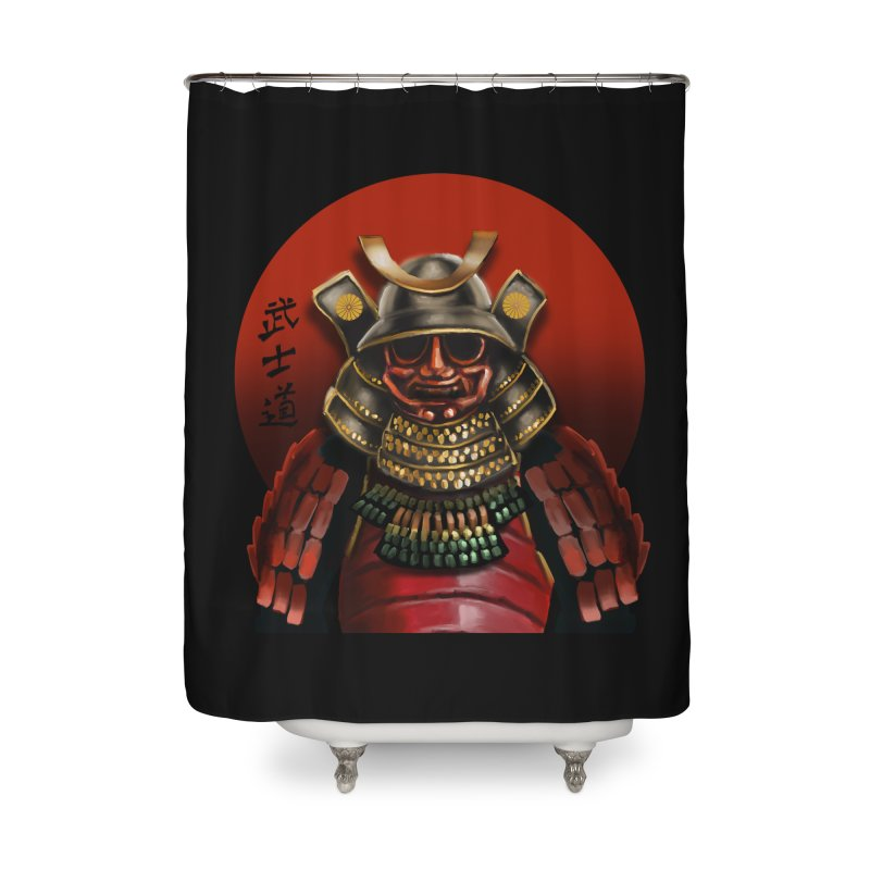 Way of the Warrior Home Shower Curtain by psweetsdesign's Artist Shop