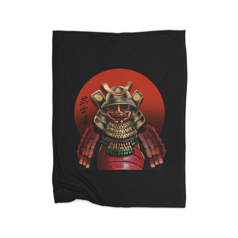 Way of the Warrior Home Fleece Blanket Blanket by psweetsdesign's Artist Shop