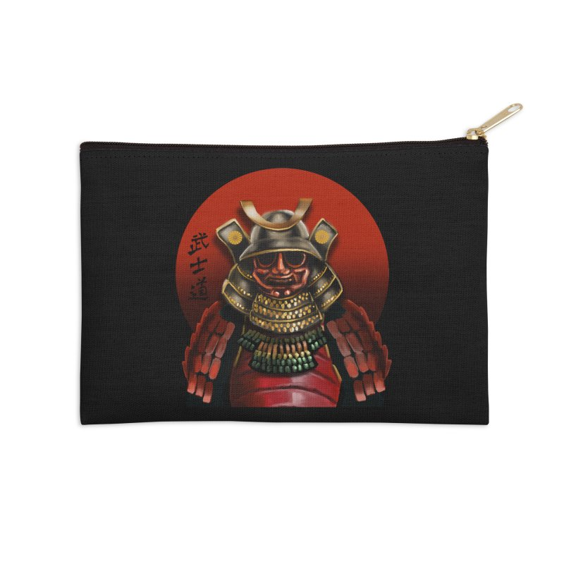 Way of the Warrior Accessories Zip Pouch by psweetsdesign's Artist Shop