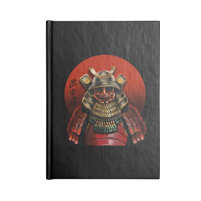 Way of the Warrior Accessories Blank Journal Notebook by psweetsdesign's Artist Shop