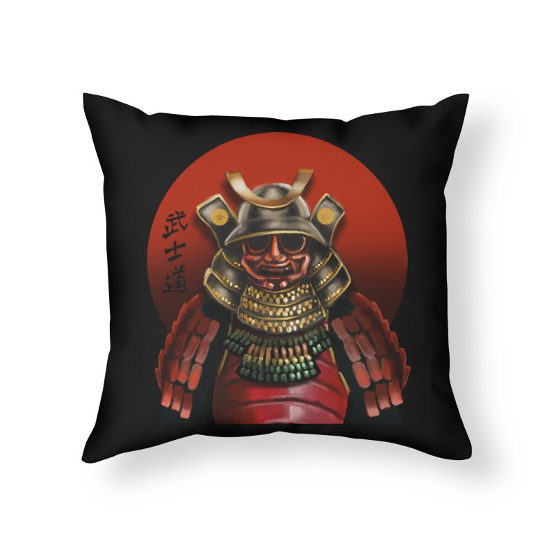 Way of the Warrior Home Throw Pillow by psweetsdesign's Artist Shop