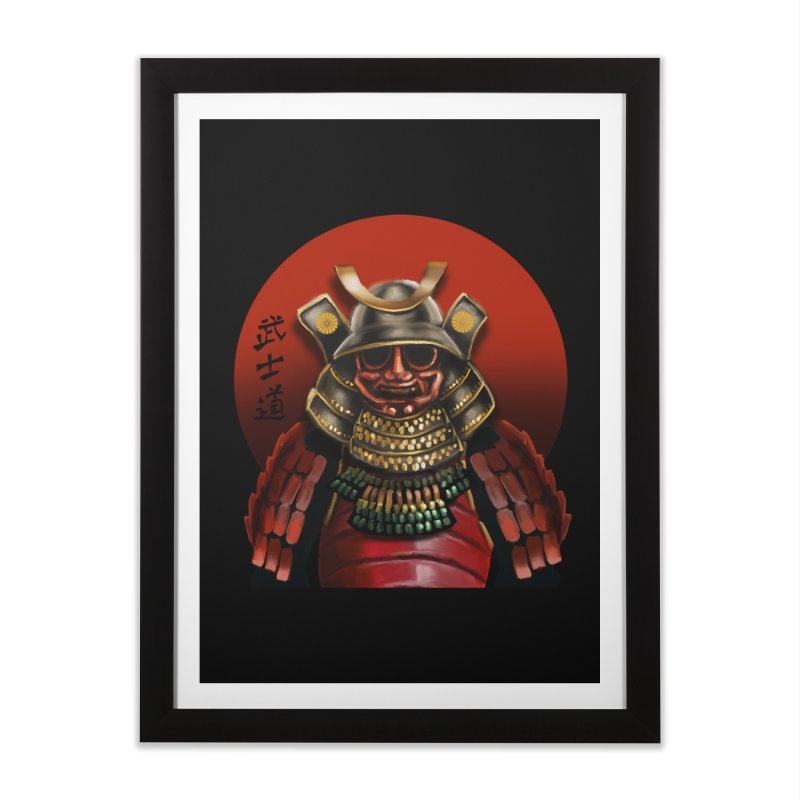 Way of the Warrior Home Framed Fine Art Print by psweetsdesign's Artist Shop
