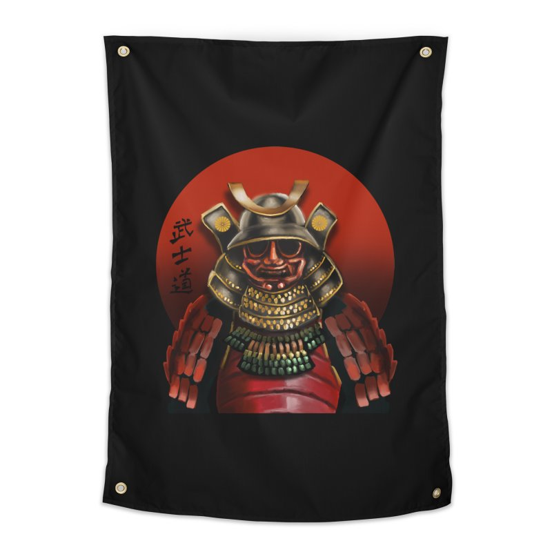 Way of the Warrior Home Tapestry by psweetsdesign's Artist Shop