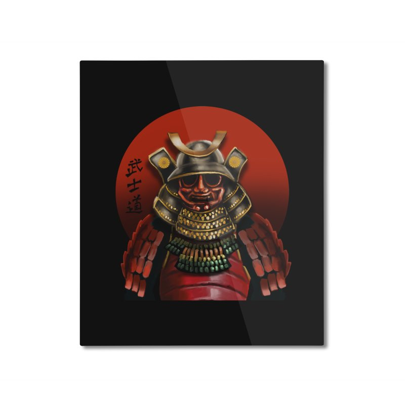 Way of the Warrior Home Mounted Aluminum Print by psweetsdesign's Artist Shop