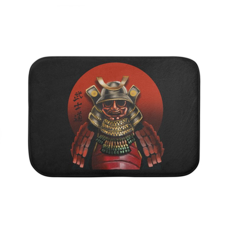 Way of the Warrior Home Bath Mat by psweetsdesign's Artist Shop