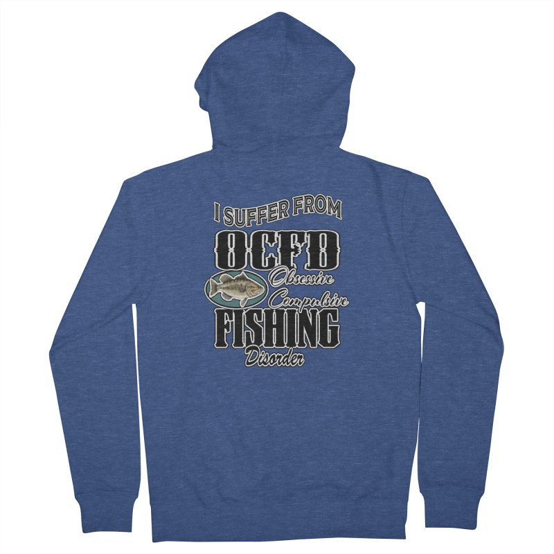 OCFD Men's French Terry Zip-Up Hoody by psweetsdesign's Artist Shop