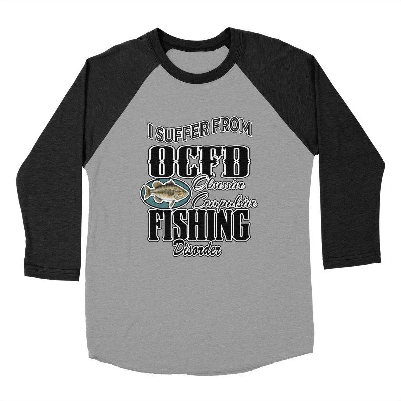 OCFD Women's Baseball Triblend Longsleeve T-Shirt by psweetsdesign's Artist Shop