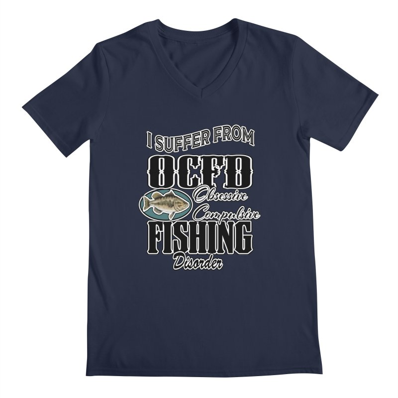 OCFD Men's Regular V-Neck by psweetsdesign's Artist Shop