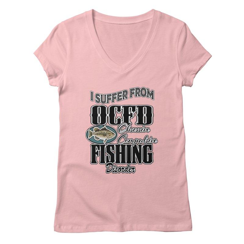 OCFD Women's Regular V-Neck by psweetsdesign's Artist Shop