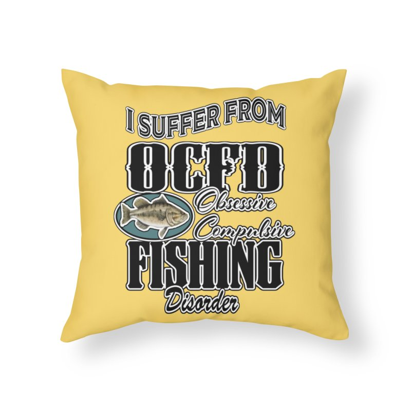 OCFD Home Throw Pillow by psweetsdesign's Artist Shop