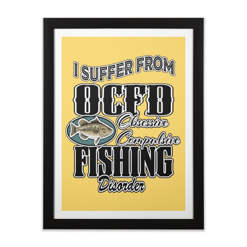 OCFD Home Framed Fine Art Print by psweetsdesign's Artist Shop
