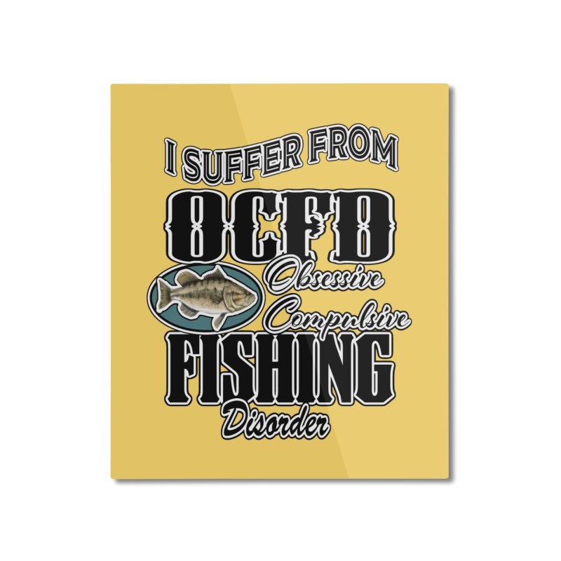OCFD Home Mounted Aluminum Print by psweetsdesign's Artist Shop