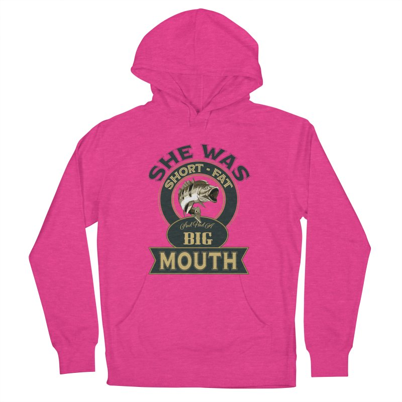 Big Mouth Bass Women's Pullover Hoody by psweetsdesign's Artist Shop