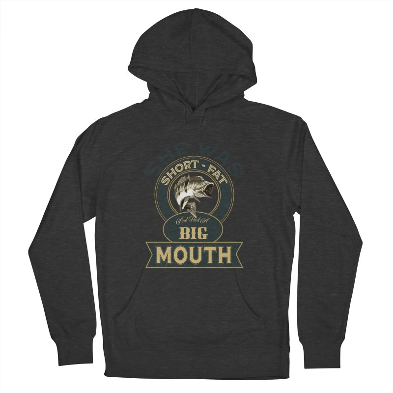 Big Mouth Bass Men's Pullover Hoody by psweetsdesign's Artist Shop