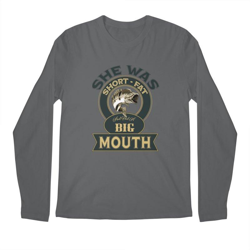 Big Mouth Bass Men's Regular Longsleeve T-Shirt by psweetsdesign's Artist Shop