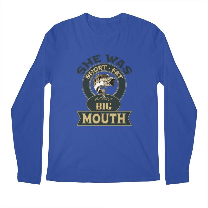 Big Mouth Bass Men's Longsleeve T-Shirt by psweetsdesign's Artist Shop