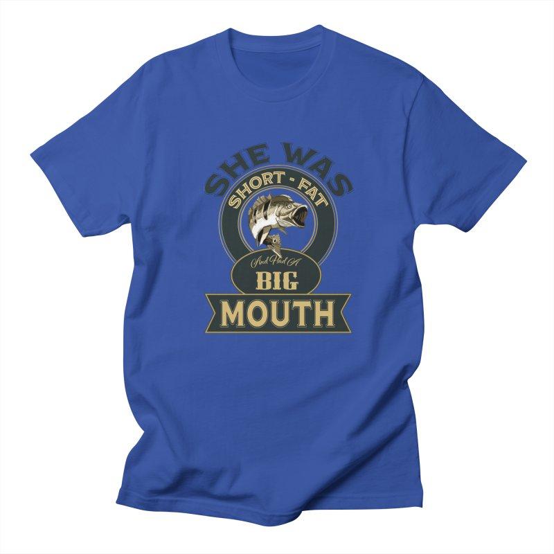 Big Mouth Bass Men's Regular T-Shirt by psweetsdesign's Artist Shop