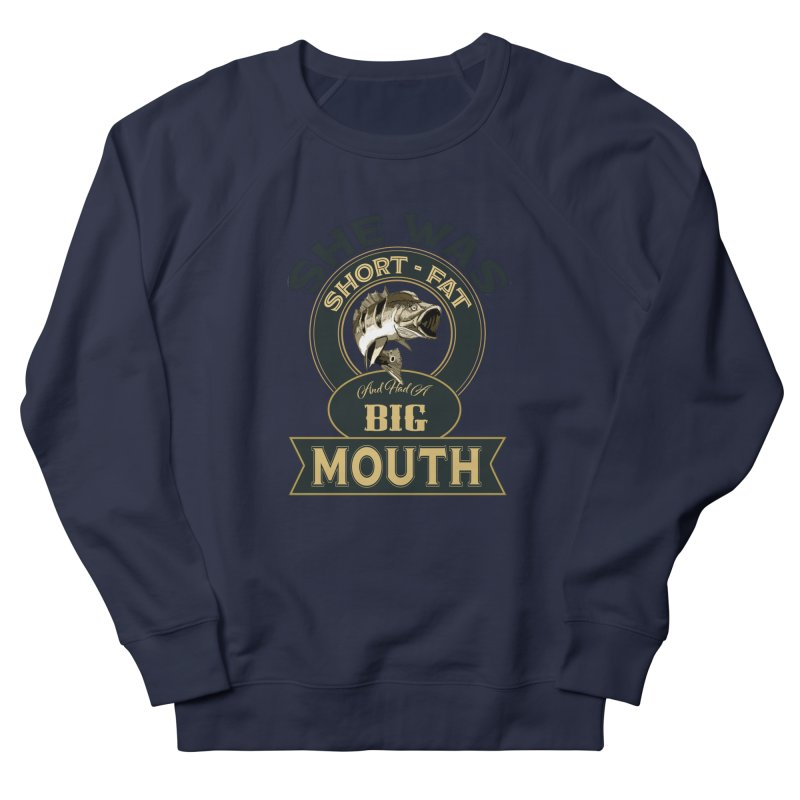 Big Mouth Bass Women's Sweatshirt by psweetsdesign's Artist Shop