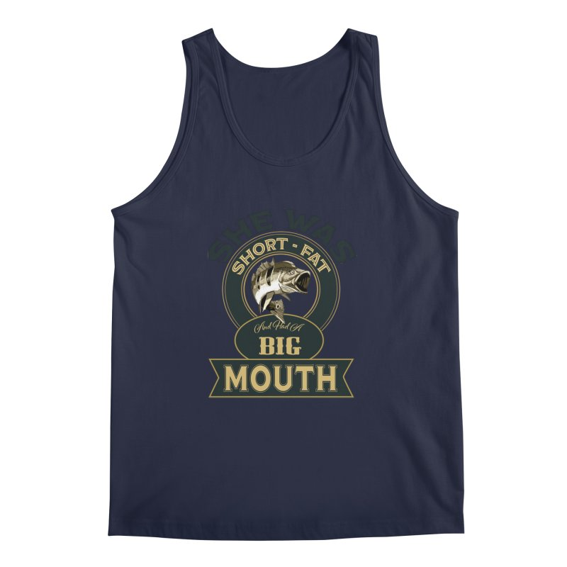 Big Mouth Bass Men's Regular Tank by psweetsdesign's Artist Shop