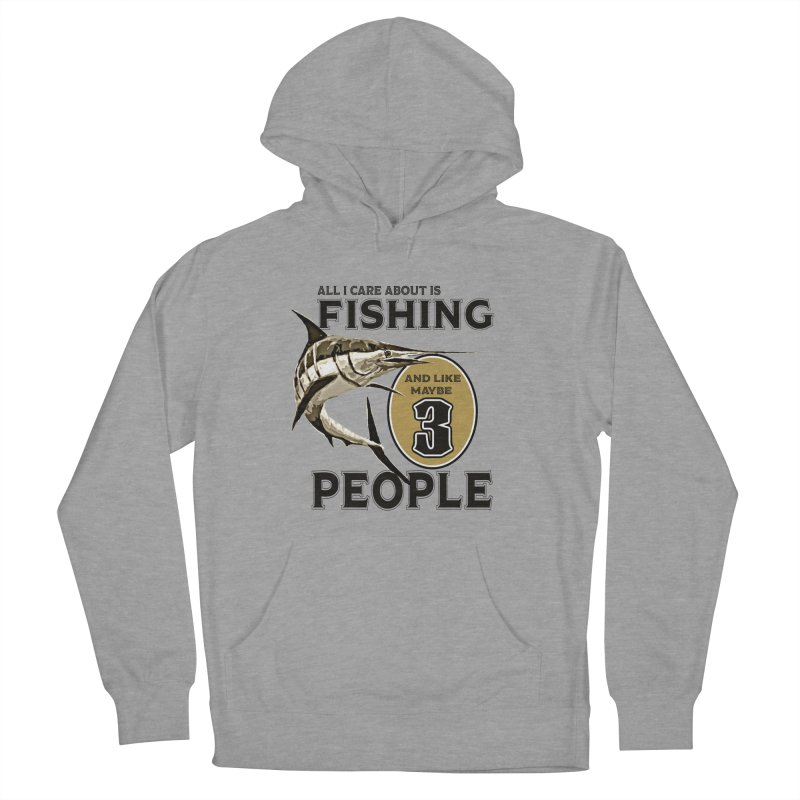 are About is FISHING Men's French Terry Pullover Hoody by psweetsdesign's Artist Shop