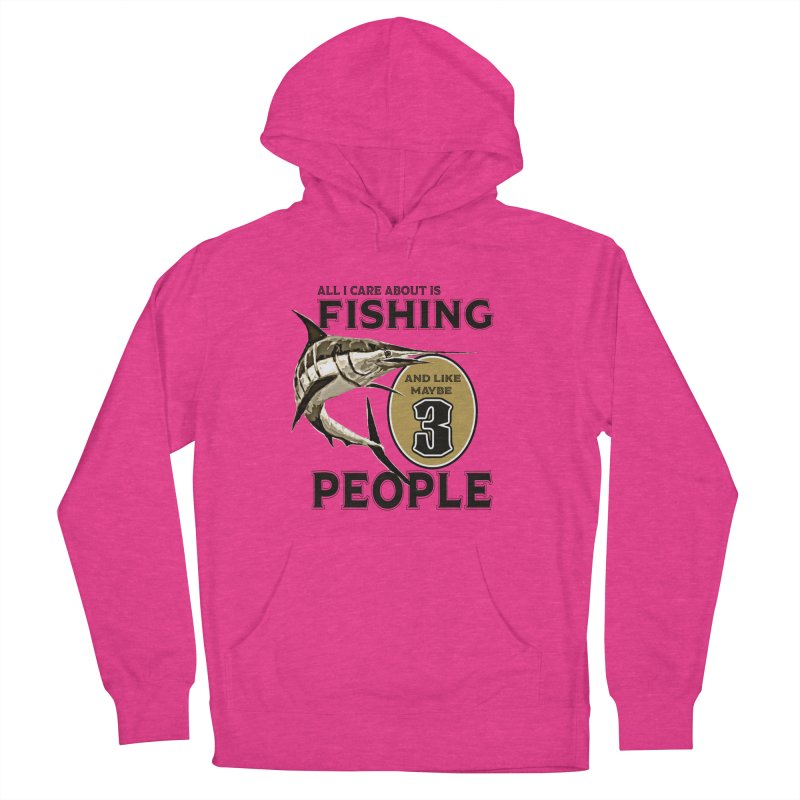 are About is FISHING Men's Pullover Hoody by psweetsdesign's Artist Shop