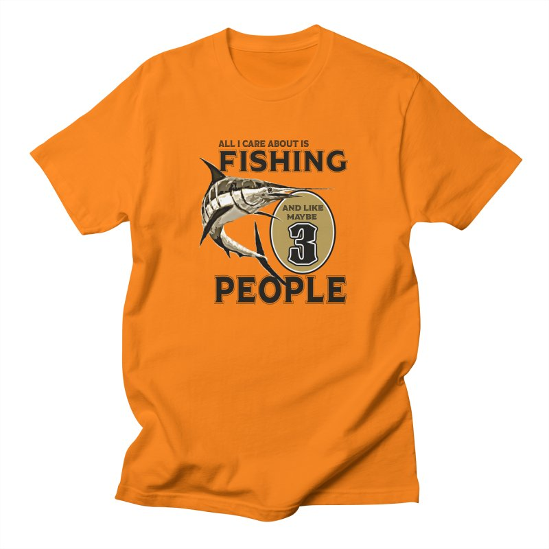 are About is FISHING Men's T-Shirt by psweetsdesign's Artist Shop