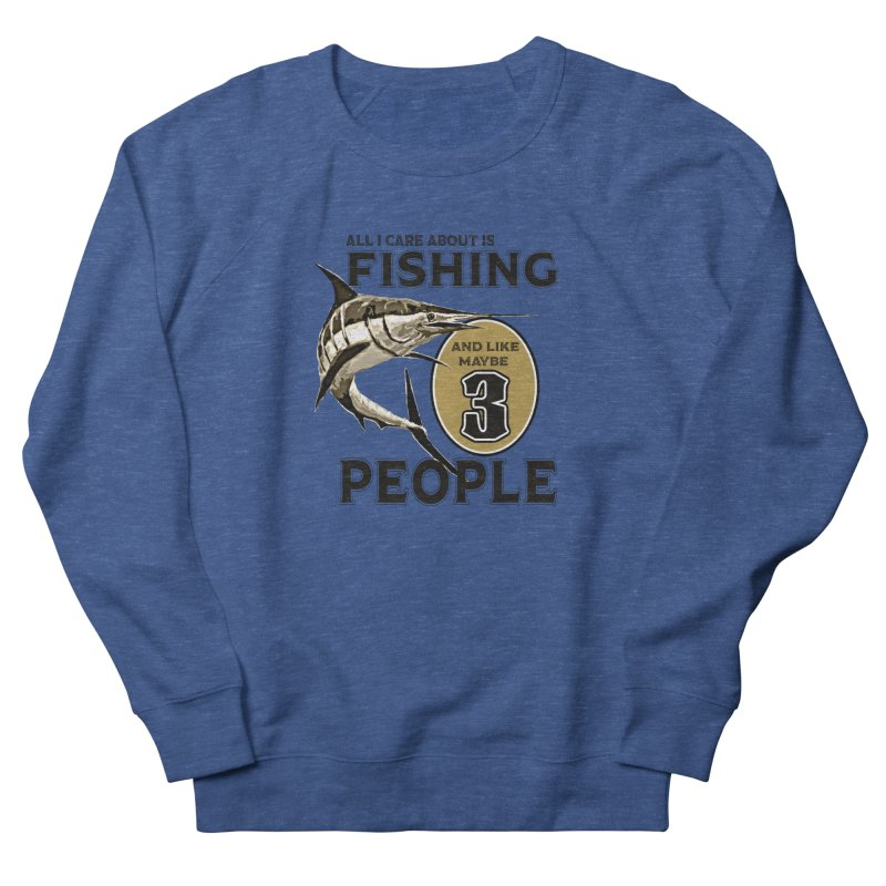 are About is FISHING Men's Sweatshirt by psweetsdesign's Artist Shop