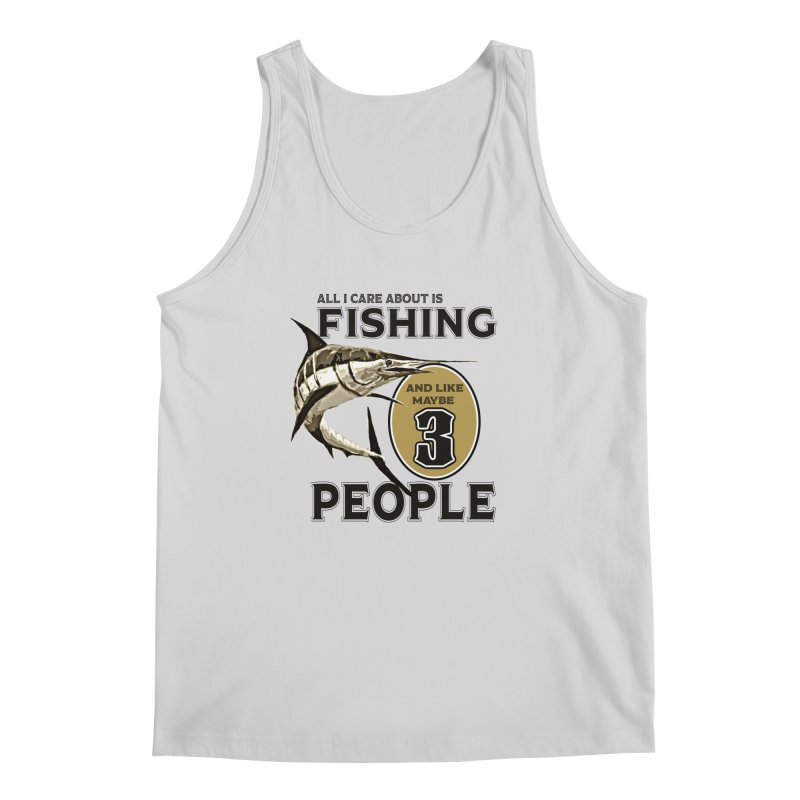 are About is FISHING Men's Regular Tank by psweetsdesign's Artist Shop