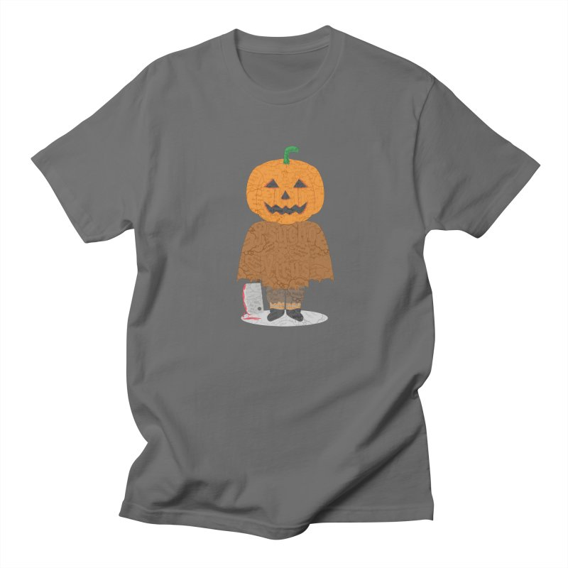 Pumkin AntiPsychoViral Men's T-Shirt by #prints with the effect of AntiPsychoVirus