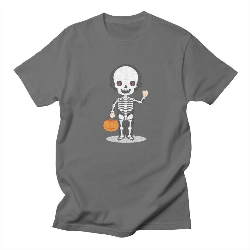 Skeleton AntiPsychoViral Men's T-Shirt by #prints with the effect of AntiPsychoVirus