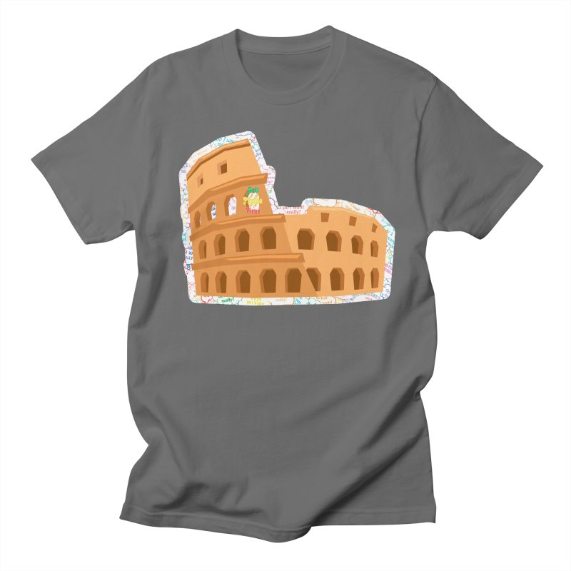 Colosseum as APV Men's T-Shirt by #prints With AntiPsychoVirus Effect