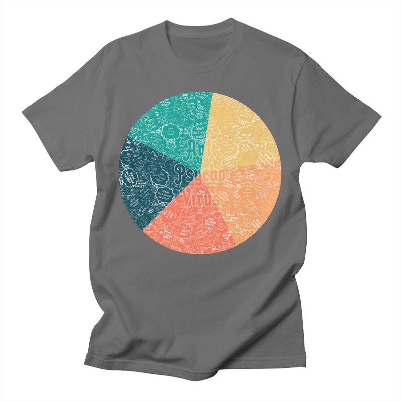 AntiPsychoVirus 5.1 Men's T-Shirt by #prints With AntiPsychoVirus Effect