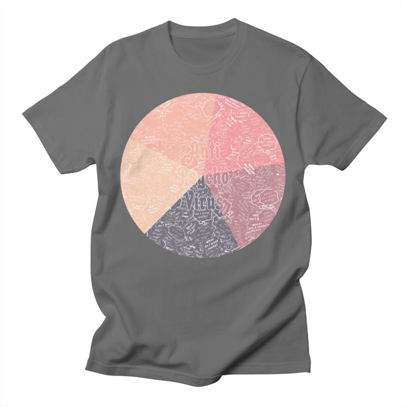 AntiPsychoVirus 5.2 Men's T-Shirt by #prints With AntiPsychoVirus Effect