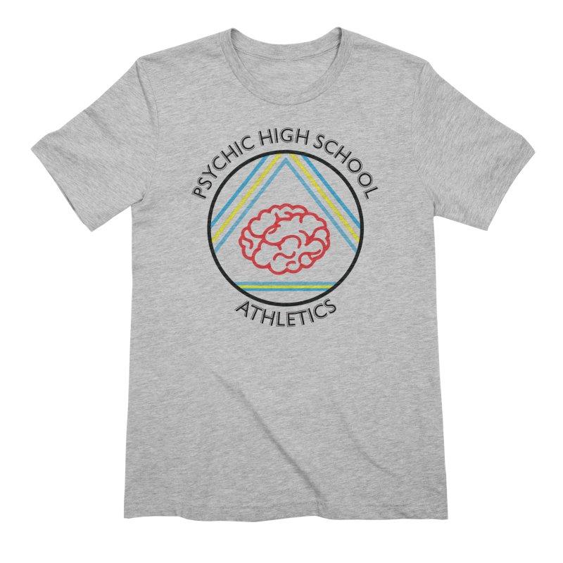 Psychic High School Athletics Men's T-Shirt by Psychic High School Student Store