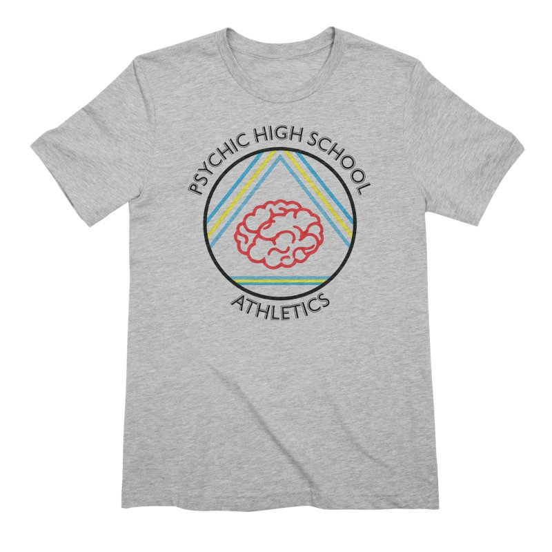 Psychic High School Athletics Men's T-Shirt by Psychic High School Student Store