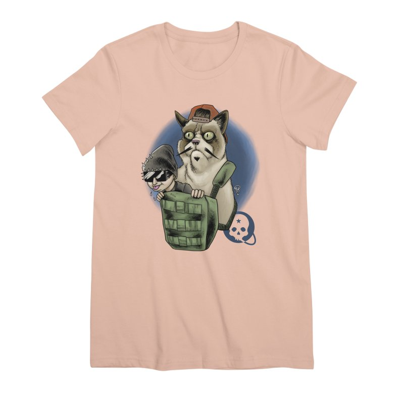 Grumpy Pat Women's Premium T-Shirt by Poisoning the Well Swag Shop