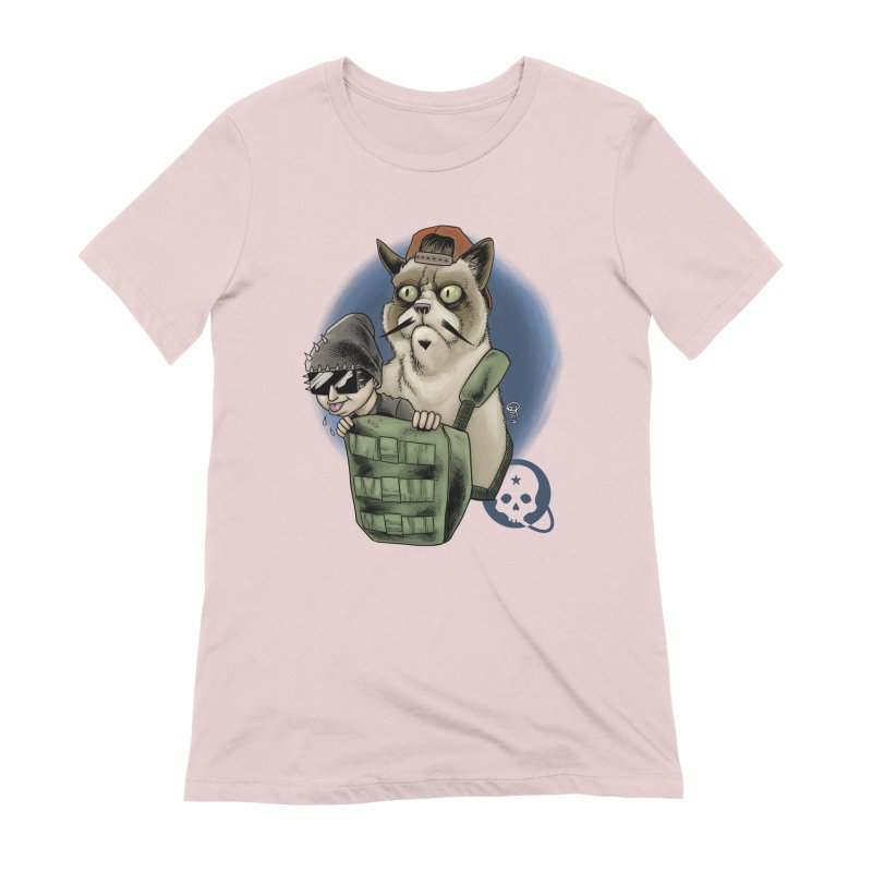 Grumpy Pat Women's Extra Soft T-Shirt by Poisoning the Well Swag Shop
