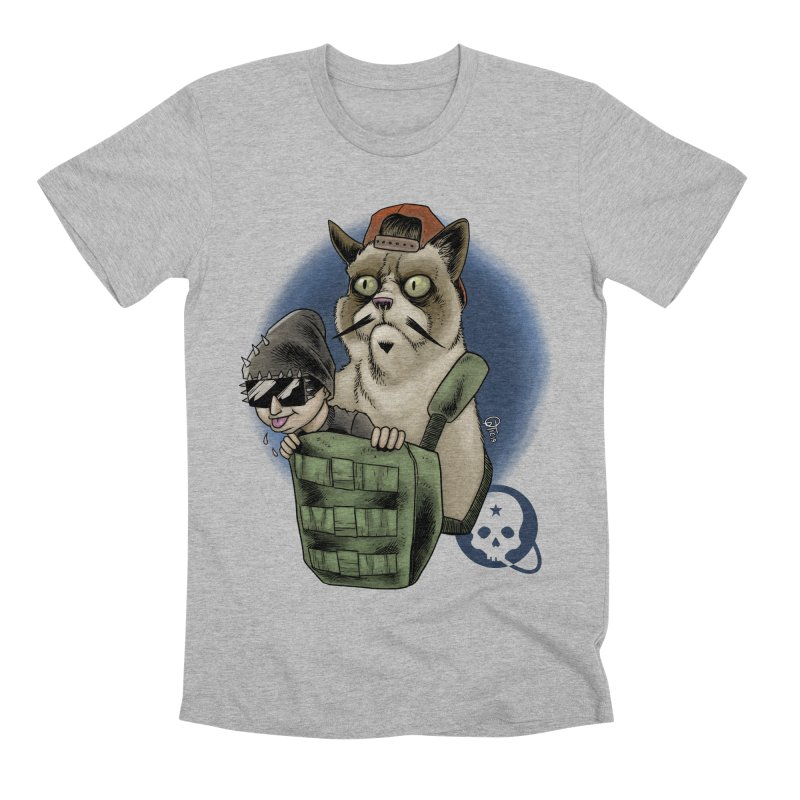 Grumpy Pat Men's Premium T-Shirt by Poisoning the Well Swag Shop