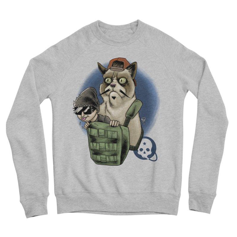 Grumpy Pat Men's Sponge Fleece Sweatshirt by Poisoning the Well Swag Shop