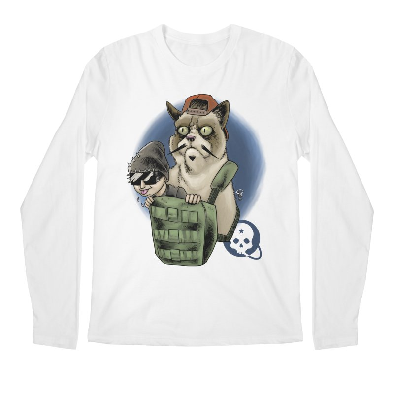 Grumpy Pat Men's Regular Longsleeve T-Shirt by Poisoning the Well Swag Shop