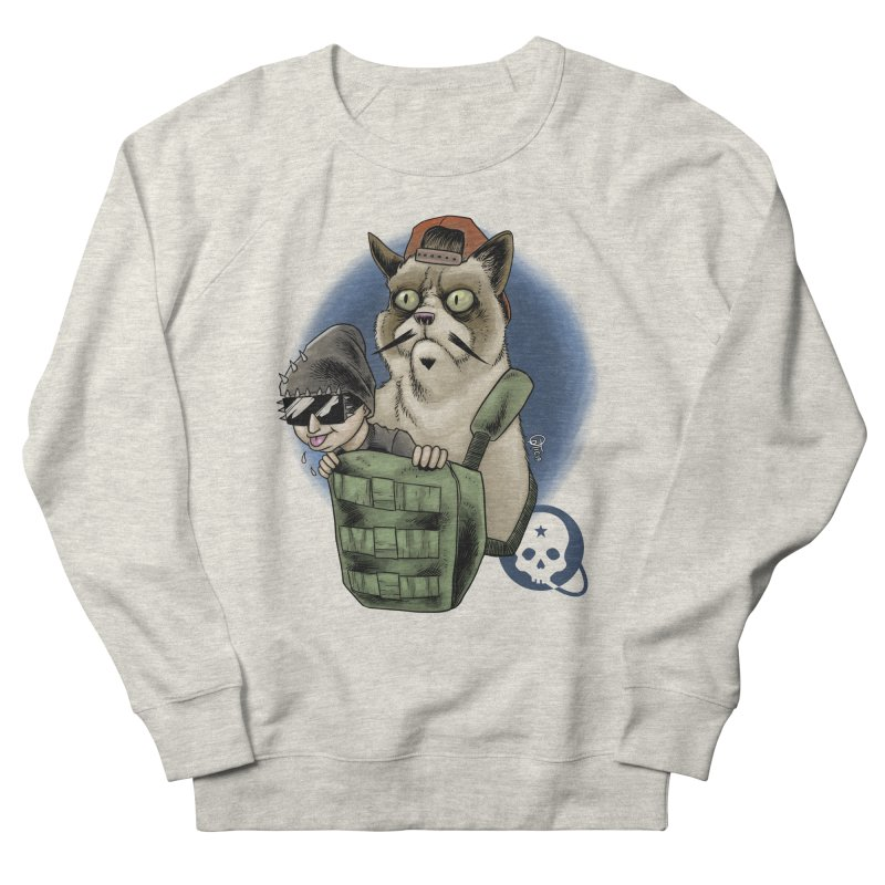 Grumpy Pat Women's French Terry Sweatshirt by Poisoning the Well Swag Shop