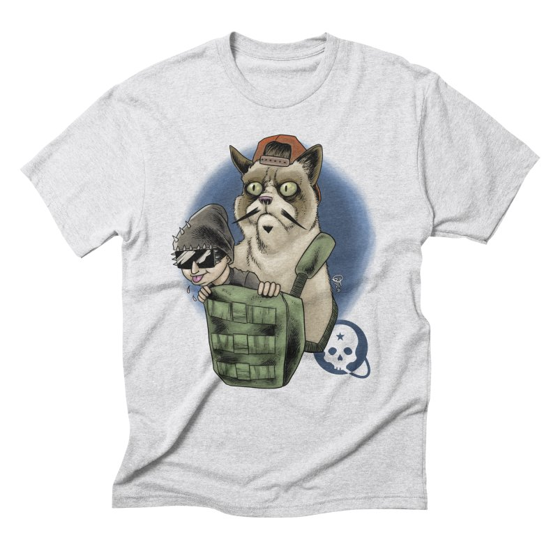 Grumpy Pat Men's Triblend T-Shirt by Poisoning the Well Swag Shop