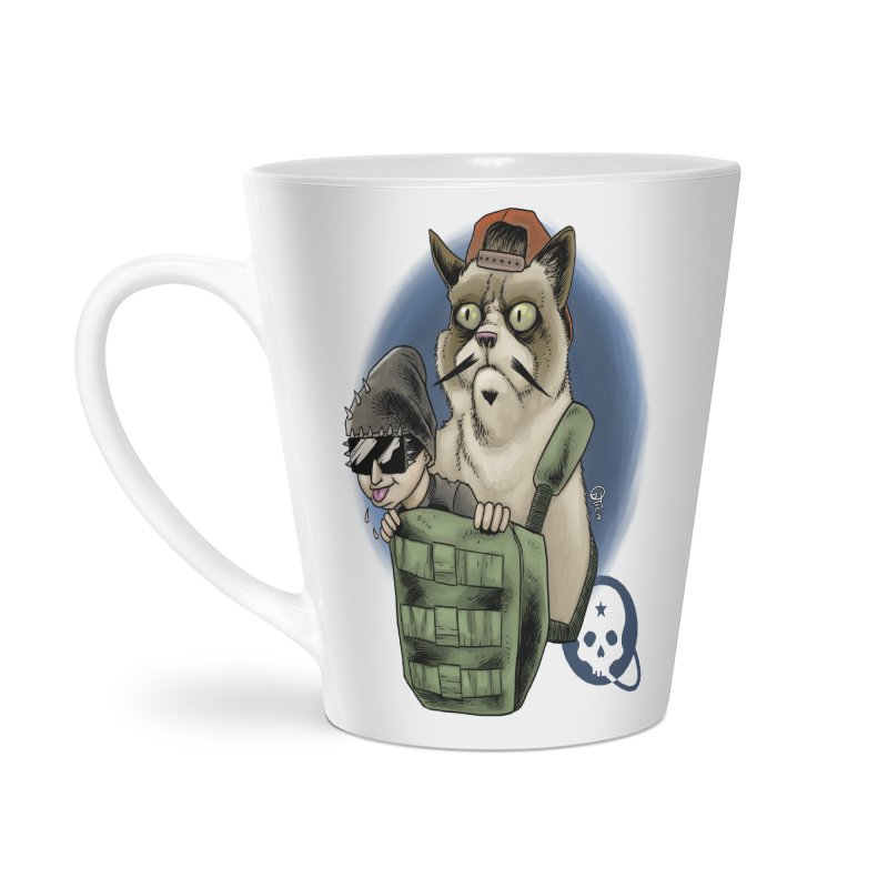 Grumpy Pat Accessories Latte Mug by Poisoning the Well Swag Shop