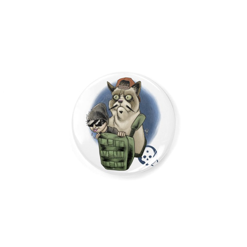 Grumpy Pat Accessories Button by Poisoning the Well Swag Shop