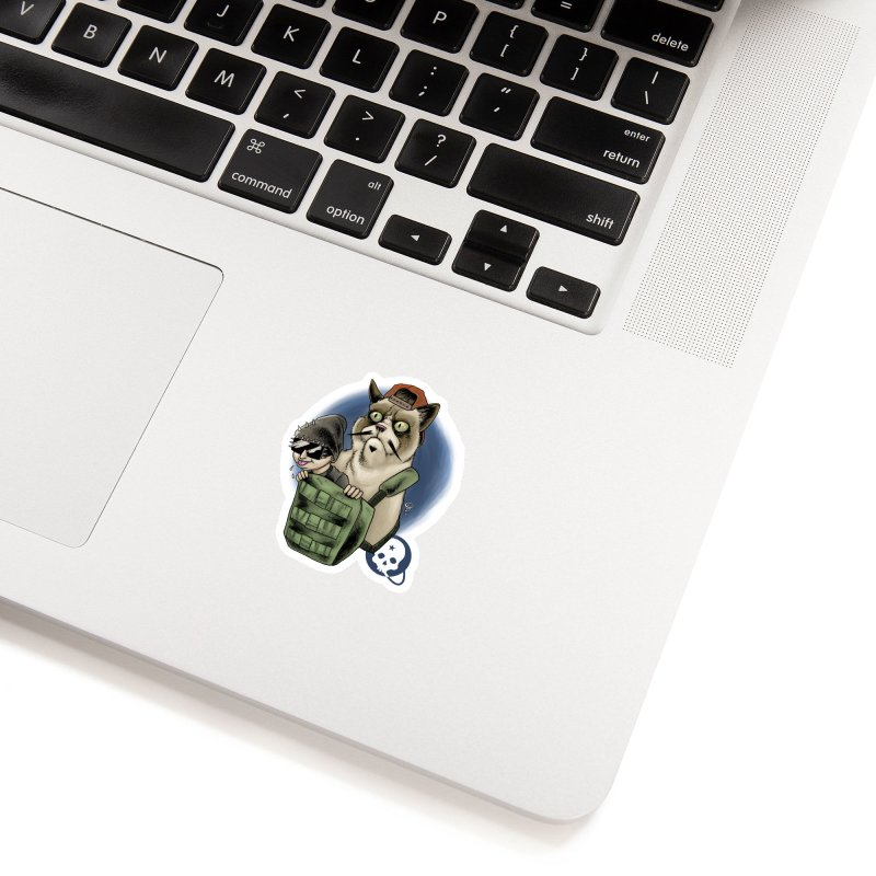 Grumpy Pat Accessories Sticker by Poisoning the Well Swag Shop