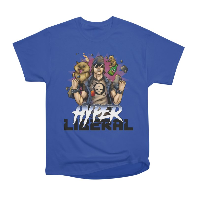 Hyper Liberal Men's Heavyweight T-Shirt by Poisoning the Well Swag Shop