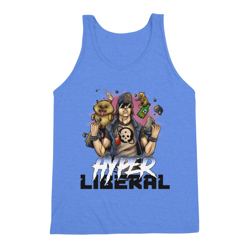 Hyper Liberal Men's Triblend Tank by Poisoning the Well Swag Shop