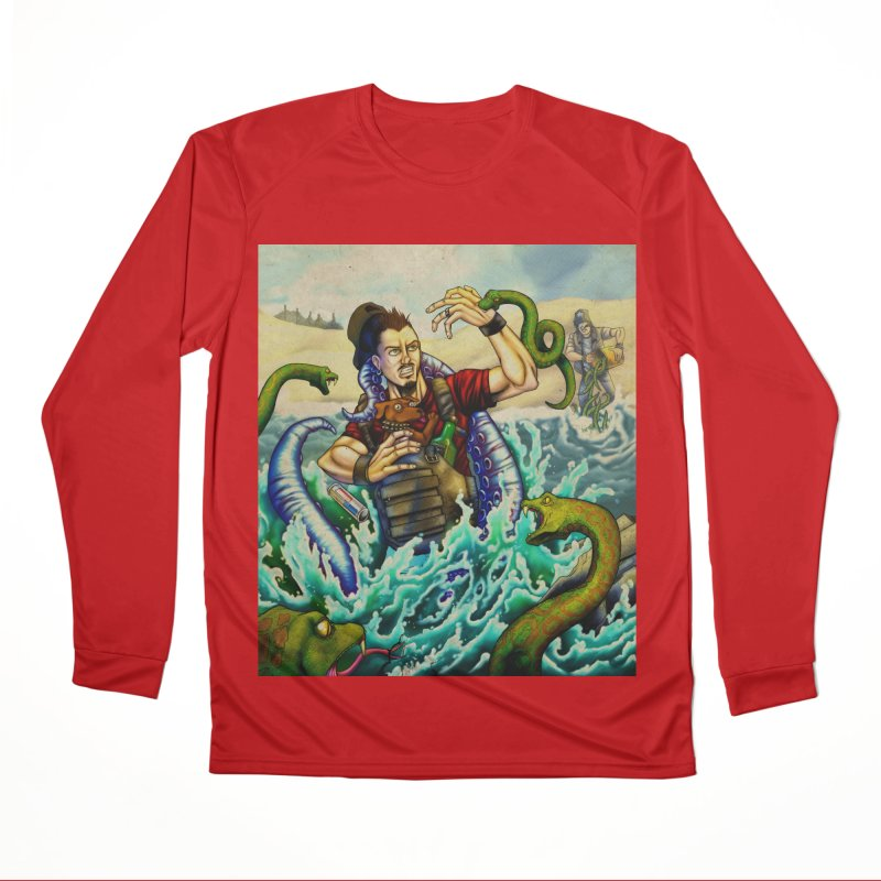 Snakes from a Fain Women's Performance Unisex Longsleeve T-Shirt by Poisoning the Well Swag Shop